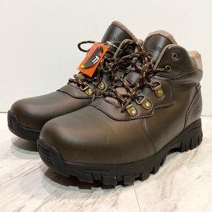 New! Deer Stags Gorp Kids Brown Lace Up Boots 6M